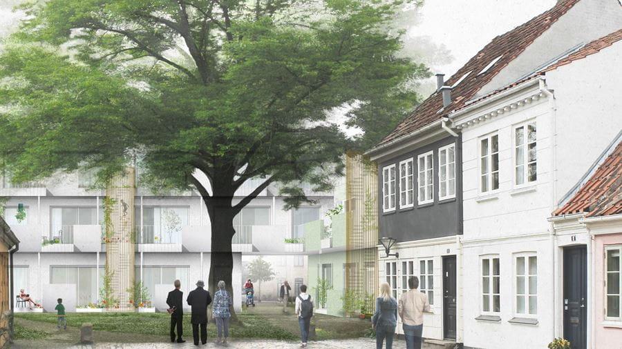 Illustration af byfællesskabet
